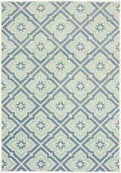 Oriental Weavers Barbados 1801h Blue - Ivory Area Rug
