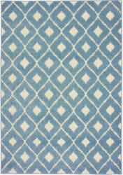 Oriental Weavers Barbados 5502b Blue - Ivory Area Rug