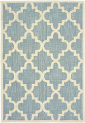 Oriental Weavers Barbados 6437j Blue - Ivory Area Rug