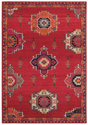 Oriental Weavers Bohemian 1801r Pink - Orange Area Rug