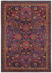 Oriental Weavers Bohemian 2268m Navy - Pink Area Rug