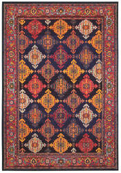 Oriental Weavers Bohemian 6997k Navy - Yellow Area Rug