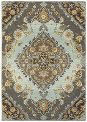 Oriental Weavers Bohemian 761d Grey - Blue Area Rug