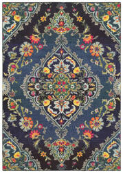 Oriental Weavers Bohemian 761n Navy - Blue Area Rug