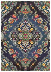 Oriental Weavers Bohemian 761n Navy - Blue Area Rug