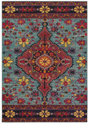 Oriental Weavers Bohemian 8222l Blue - Pink Area Rug