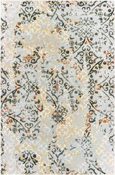 Oriental Weavers Bowen 108w2 Grey - Gold Area Rug