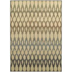 Oriental Weavers Brentwood 001h9 Ivory/Blue Area Rug