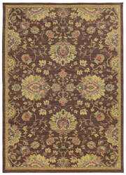Tommy Bahama Cabana 002n2 Brown Area Rug