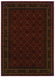 Oriental Weavers Cambridge 180c2 Burgundy Area Rug