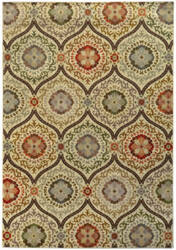 Oriental Weavers Casablanca 5324a Brown / Beige Area Rug