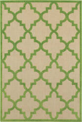 Oriental Weavers Cayman 660f Sand - Green Area Rug