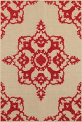 Oriental Weavers Cayman 97r Sand - Red Area Rug