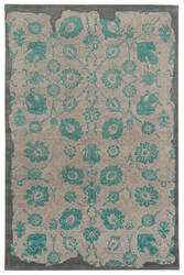 PANTONE UNIVERSE Color Influence 45103 Viridian Green/Dove Area Rug