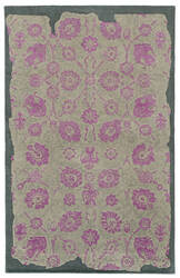 PANTONE UNIVERSE Color Influence 45104 Radiant Orchid/Dove Area Rug