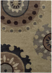 Oriental Weavers Covington 4926j Beige / Midnight Area Rug