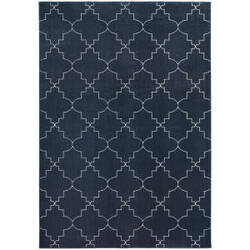Oriental Weavers Ellerson 5994b Navy Area Rug