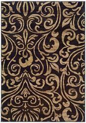 Oriental Weavers Emerson 2033C Black Area Rug