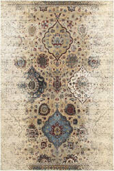 Oriental Weavers Empire 28w Ivory - Blue Area Rug