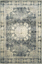 Oriental Weavers Empire 4445s Ivory - Blue Area Rug