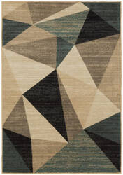 Oriental Weavers Evandale 9841b Grey - Blue Area Rug