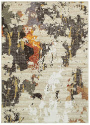 Oriental Weavers Evolution 7770j Beige - Charcoal Area Rug