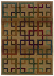 Oriental Weavers Genesis 096j1 Brown Area Rug