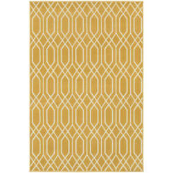 Oriental Weavers Hampton 192y Gold Area Rug