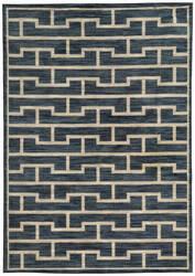 Oriental Weavers Harper 46177 Blue / Beige Area Rug