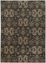 Oriental Weavers Heritage 2163d Blue / Gold Area Rug