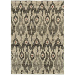Oriental Weavers Highlands 6301e Ivory Area Rug