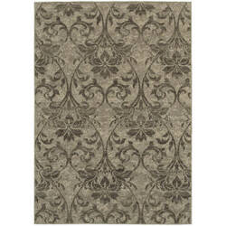 Oriental Weavers Highlands 6609c Grey Area Rug
