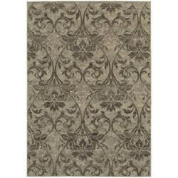 Oriental Weavers Highlands 6609c Grey Area Rug