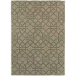 Oriental Weavers Highlands 6638e Grey Area Rug