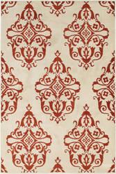 Oriental Weavers Jayden 7412d Ivory - Rust Area Rug
