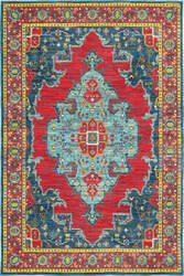 Oriental Weavers Joli 1331s Blue - Red Area Rug