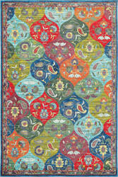 Oriental Weavers Joli 9648s Multi - Blue Area Rug