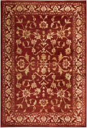 Oriental Weavers Juliette 1331s Red - Gold Area Rug