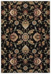 Oriental Weavers Kashan 9946k Black - Multi Area Rug