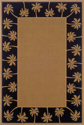 Oriental Weavers Lanai 606k5 Beige - Black Area Rug