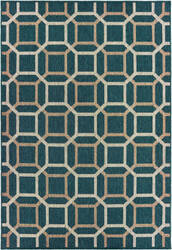 Oriental Weavers Latitude 806b3 Blue - Grey Area Rug