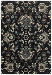 Oriental Weavers Linden 7811b Navy - Blue Area Rug