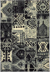 Oriental Weavers Luna 1804k Black - Ivory Area Rug