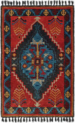 Oriental Weavers Madison 61403 Rust - Blue Area Rug