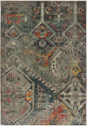 Oriental Weavers Mantra 001x7 Grey - Multi Area Rug