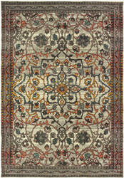Oriental Weavers Mantra 4929h Ivory - Grey Area Rug