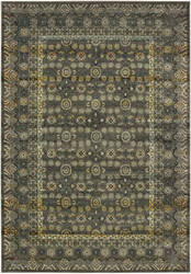 Oriental Weavers Mantra 507n7 Grey - Gold Area Rug