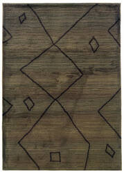 Oriental Weavers Marrakesh 1443x Brown Area Rug