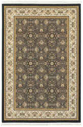 Oriental Weavers Masterpiece 1331b Navy - Ivory Area Rug