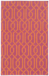 PANTONE UNIVERSE Matrix 4260m Pink/ Orange Area Rug